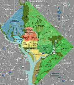 distretti di washington DC