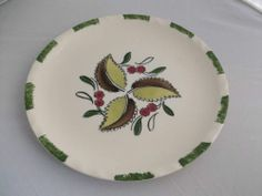 Blue Ridge Pottery Wild Cherry Dinner Plates