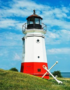 ✮ Vermillion Lighthouse on the shores of  Lake Erie