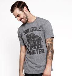 Snuggle Monster Mens Tee Grey – Buy Me Brunch