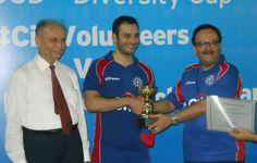 Best Batsman of the Cup Mr. Sheriyar Dar.