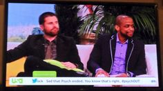 #Psych #PShow <3 These guys for over 8 yrs! #PsychAllNight 3/26/14