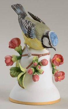Blue Tit - Franklin MintBird Bells-Porcelain at Replacements, Ltd