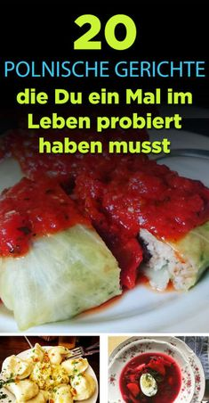 20 polnische Gerichte, die Du einmal im Leben probiert haben musst - Sicilian Recipes, Greek Recipes, Pork Recipes, Mexican Food Recipes, Ethnic Recipes, Polish Recipes, Russian Recipes, Pork Dishes, Healthy Eating Tips