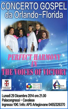 The Voices of Victory in Concerto a Cavalese
