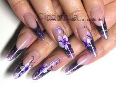 Aquarell Orchideen