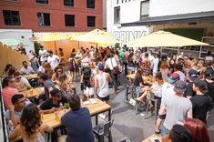 There's A Stunning Rooftop Beer Garden In Toronto You Must Drink At This Summer featured image Beer Garden, Fun Drinks, You Must, Night Club, Rooftop, Brewery, Toronto, Dolores Park, Wedding Venues