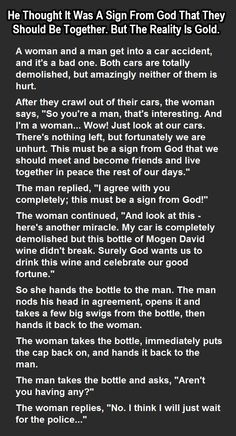 A Man And Woman Think They're Meant To Be Together But Never Saw This Coming funny jokes story lol funny quote funny quotes funny sayings joke hilarious humor omg stories funny jokes