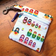 Looking for sewing project inspiration? Check out Zipper Pouch by member haydiehay.