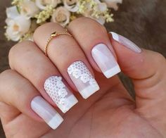 This series deals with many common and very painful conditions, which can spoil the appearance of your nails. SPLIT NAILS What is it about ? Nails are composed of several… Continue Reading → Natural Wedding Nails, Simple Wedding Nails, Natural Gel Nails, Wedding Nails Design, Nail Art Designs, Split Nails, Bridal Nail Art, Nail Tutorials, Long Nails