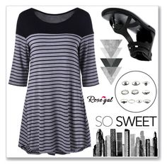 """Rosegal 66"" by abecic ❤ liked on Polyvore featuring RoomMates Decor"