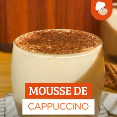 """Any moment is useful for """"""""a good coffe"""""""" plus the favourite level is without doubt the espresso. Gourmet Recipes, Dessert Recipes, Cooking Recipes, Cappuccino Recipe, Cappuccino Cupcakes, Tasty, Yummy Food, Coffee Recipes, Clean Eating Snacks"""
