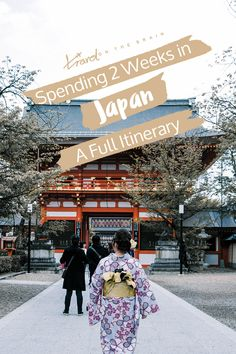 To spend 2 weeks in Japan and see as much as possible, a lot of planning needs to happen. I did most of it for you. Click to see a full itinerary with lots of tips.