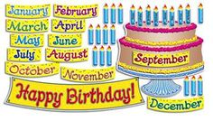 Big Birthday Cake Guide Bulletin Board Cut Out