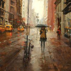 Hsin-Yao Tseng, Impressionist Figurative and Landscape painter, Portrait Painter, Cityscape painter, Award winning artist, represented by Wa...