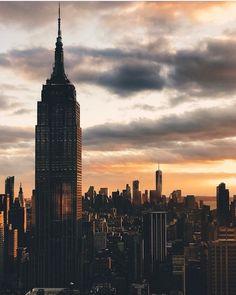 www.joliesse.ru   вдохновение Нью-Йорк закат рассвет вид