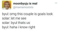 Couple goals || Mamamoo funny text posts Moonsun