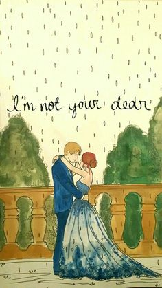 I'm just not your dear ❤