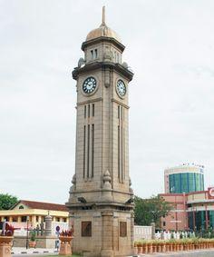 Sungai Petani Clock Tower, Kedah, Malaysia