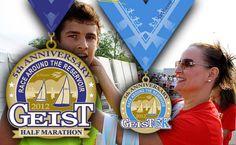 Half Marathon and 5K in Geist  Fishers, Indiana  May 19, 2012