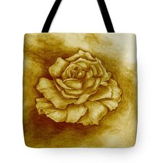 Golden Rose Tote Bag for Sale by Faye Anastasopoulou Fusion Art, Theme Pictures, Thing 1, Design Patterns, Basic Colors, Bag Sale, Artist At Work, Colorful Backgrounds, Reusable Tote Bags