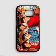 One Direction Midnight Memories Nebula Design Samsung Galaxy S7 Edge Case   Casefruits