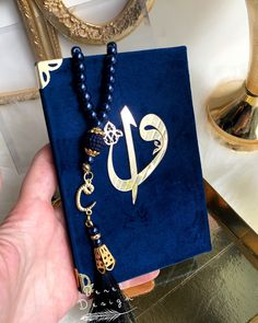 10 pcs, Royal Blue Yaseen Favors Set, Yaseen Book, Arabic Yaseen Cover Bag and Prayer Beads Set, Ram Islamic Gifts, Islamic Art, Engagement Favors, Quran Book, Sachet Bags, Ramadan Gifts, Eid Mubarak, Online Gifts, Blue Velvet