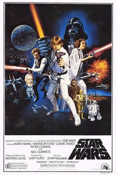 Original Star Wars poster (1977) -posters from my childhood