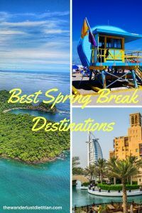 Best Spring Break Destinations: As Told By Travel Bloggers. Are you sick of the snow or the humdrum of life's responsibilities? Take a break from work and escape to one of these exhilarating and unique spring break destination! ******************************************** spring break, where to go for spring break, spring break in Europe, beach spring break, spring break in Greece, #uniquespringbreak #springbreak #springbreakdestinations