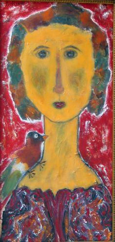 Harriet Wiseman, Woman with Bird