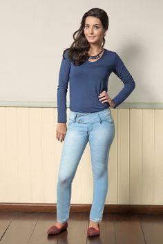 M2A Jeans | Fall Winter 2014 | Teen Collection | Outono Inverno 2014 | Coleção juvenil | peças | calça jeans feminina; blusa azul feminina; jeans; demin.