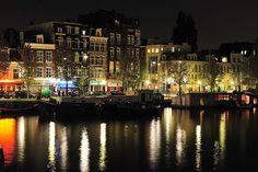 Amstel,Netherlands.. at night