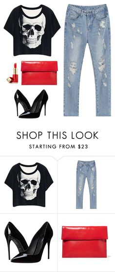 """""""Untitled #10"""" by bienheureux on Polyvore featuring Dolce&Gabbana, Marni and Estée Lauder"""