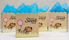 Cupcake Cutie; Sweet Roses; Scalloped Treat Box Die-namics; Fresh Cut Grass Die-namics - Karen Giron