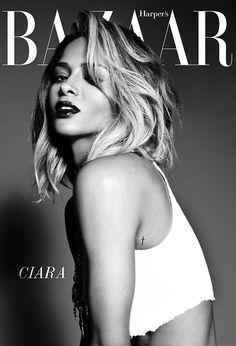 Ciara on Harper's Bazaar