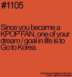 I really want to go to Korea
