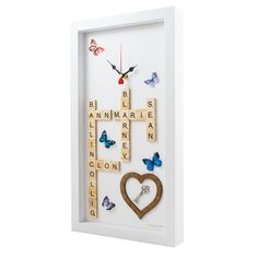 Handmade Unique Clocks direct from Cork, Ireland. Bespoke fun clocks handmade to order, great for gifts and occasions. Klocz by JOS, have you got your Klocz yet? Handmade Clocks, Unique Clocks, Personalized Clocks, Hen Party Gifts, Frame, Birthday Ideas, Fun, Crafts, Bachelorette Party Gifts