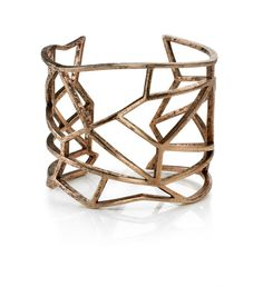 bronze cut out cuff | low luv | glamhouse