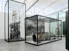 Anselm Kiefer  Next Year in Jerusalem  installation views  (photos by Rob McKeever)  Gagosian Gallery, New York City