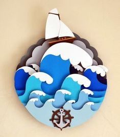 40 Extremely Creative Examples Of Kirigami Art: A Hobby To Adopt - Page 3 of 3 - Bored Art 3d Paper Art, Paper Artwork, Diy Paper, Paper Hand Craft, Paper Drawing, 3d Artwork, Diy And Crafts, Arts And Crafts, Foam Crafts