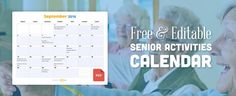 January Activity Calendar for the Elderly! The perfect resource for Activity Coordinators working in nursing homes and assisted living facilities. Includes a huge variety of activities for seniors including low care and dementia care.