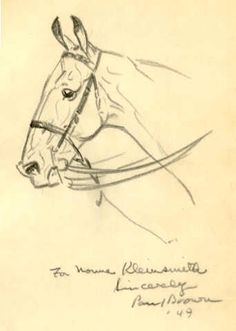 book inscription: illustration by Paul Brown