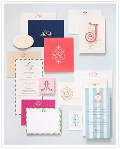 Beautiful invitations from Cheree Berry (so many on this page.. all amazing)