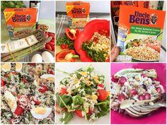 Uncle Ben's Rice and Grains Uncle Bens Reis, Pasta Salad, Cobb Salad, Couscous, Quinoa, Grains, Rice, Ethnic Recipes, Food