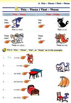 Inglês da Professora Denise Mardegan: Demonstrative Pronoums - This - That - These - Those