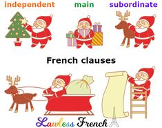 Can you tell these 3 #French clauses apart? #lawlessfrench #learnfrench