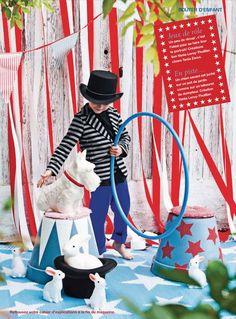 Circus party  Marie Claire Idées mai-juin 2013