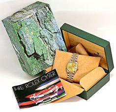 Foto 6, Medium Rolex Datejust Uhr Stahlgold Diamant-Zifferblatt, U2095