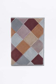 Patchwork Suede Notebook - Urban Outfitters