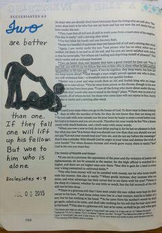 Ecclesiastes 4:9 - by Paula-Kay Bourland